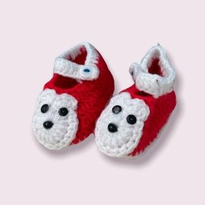 Knitted Baby Booties NWOT